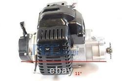 49cc Complete Black Engine 2 Stroke Avec Pull Start Super Bike Ele M En04