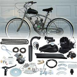 50cc 2 Stroke Cycle Motor Kit Motorized Bike Petrol Gas Bicycle Kit Moteur