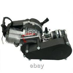 50cc 49cc 2 Traction Pull Moteur Moteur Mini Pocket Dirt Bike Vtt Quad Buggy