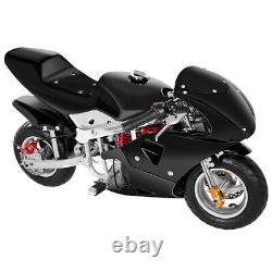 50km/h 49cc 4-stroke Motorcycle Moto Mini Gas Power Pocket Bike