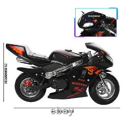 55 Km/h Mini Moto De Poche De Puissance De Gaz 49cc 2-stroke Motorcycle