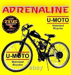 66cc/80cc 2-stroke Motorized Bike Engine Kit With 26 Mt Bike Diy Complet