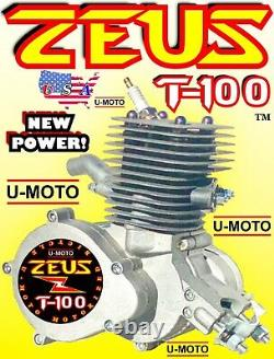 80cc / 100cc 2-stroke Moteur Vélo Pour Kits Et Motorise Motorized Puissance De Bicyclette