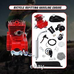 80cc 2 Stroke Cycle Motor Kit Motorized Bike Petrol Gas Kit Moteur De Vélo
