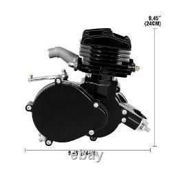 80cc 2 Stroke Moteur Kit Gaz Pour Vélo Motorisé Noir Amélioré