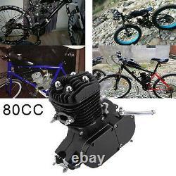 80cc 2 Temps Essence Gaz Moteur Kit Moteur Pour Vélo Motorisé Vélo De Poussée