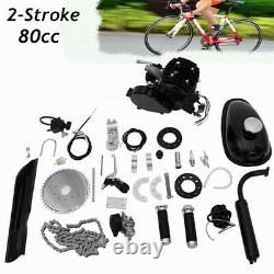 80cc 2-stroke Bicycle Engine Kit Essence Motorized Motor Bicycle Modifié Ensemble Complet Us