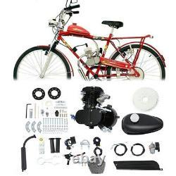 80cc 2-stroke Bike Cycling Motorized Bicycle Engine Motor Kit Muffler Essence Essence
