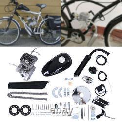 80cc 2-stroke Cycle Vélo Moteur Moteur Essence Kit Essence Vélo Motorisé