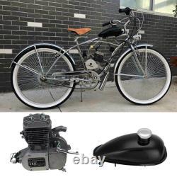 80cc 2-stroke Vélo Cyclisme Moteur Moteur Motorisé Kit Silencieux Essence Gaz