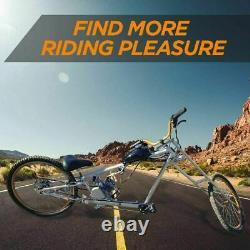 80cc Bike Bicycle Motor Kit Motorized 2 Stroke Petrol Gas Engine Set Black États-unis