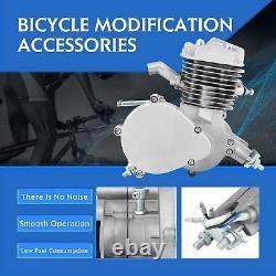 80cc Ensemble Complet Vélo Motorisé 2 Coupole Essence Moteur Kit Moteur