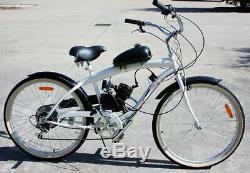 80cc Motorisé Vélo Motorisé Pousser Vélo 2 Stroke Moteur Moteur Kit États-unis