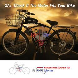 80cc Vélo Vélo Motorisé 2 Temps Gaz Moteur Moteur Kit De Démarrage Électrique