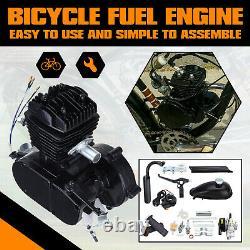 80cc Vélo Vélo Motorisé Moteur Essence Moteur Kit Moteur 2 Coup De Refroidissement D'air Bricolage