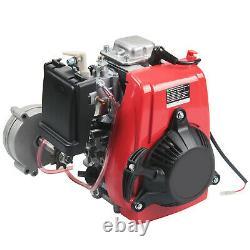 Anbull 49cc 4-stroke Gas Motorised Bike Bicycle Motor Moteur Kit Chain Drive Us