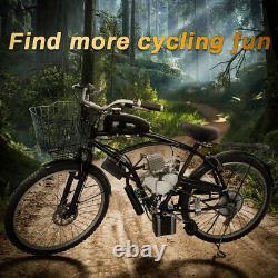 Anbull 80cc 2stroke 4hp Electric Start Bike Engine Kit Motorized 40km/h Us Stock