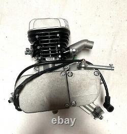 Bgf G5 / Super Rat 80cc Manches En Acier Remplacement Moteur Gas Moteur 2 Temps Moto