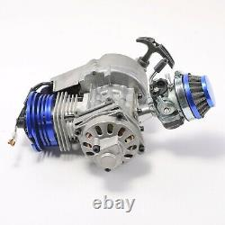 Big Bore Racing 49cc Engine Motor Gearbox Pour 2 Stroke Scooter Pocket Bike Vtt