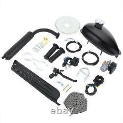 Black 80cc 2 Stroke Engine Petrol Gas Bicycle Cycle Motor Kit Motorized Bike
