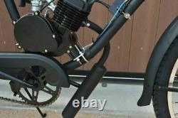 Black 80cc 2-stroke Vélo Vélo Cycle Motorisé Moteur À Gaz Kit Complet