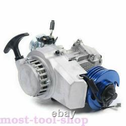 Course 47cc 49cc 2-stroke Engine Motor Pocket Mini Bike Scooter Atv Quad Kart