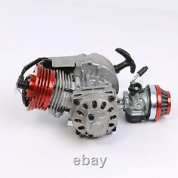 Course Big Bore 49cc Moteur 50cc + 2 Transmission De Course Pocket Quad Bike