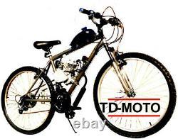 Diy 2 Stroke 80cc Motorized Bicycle Bike Motor Engine Kit