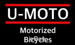 Diy 2-stroke 66cc / 80cc Motorized Bike Moteur Kit Moteur Avec 26 Bike Cruiser