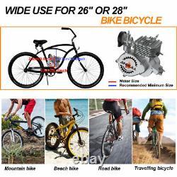 Ensemble Complet 100cc Bicycle Engine Kit 2-stroke Gas Motorized Motor Bike Modified Set