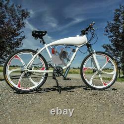 Ensemble Complet 100cc Kit Moteur De Vélo 2-stroke Gas Motorized Motor Bicycle Modifié Set