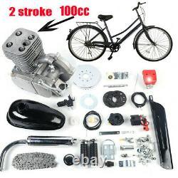 Ensemble Complet 100cc Vélo Motorisé 2-stroke Essence Essence Moteur Moteur Kit 90#