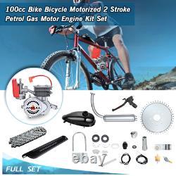 Ensemble Complet 2 Course 100cc Bike Bicycle Motorized Petrol Gas Motor Engine Kit
