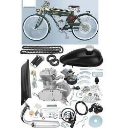 Ensemble Complet 80cc Vélo Vélo Motorisé 2 Temps Essence Gaz Motor Engine Kit Ensemble