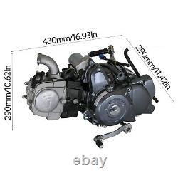 Ensemble Complet Lifan 125cc 4 Temps De Moteur Moteur Pit Dirt Bike Vtt Quad Pour Crf50 Z50