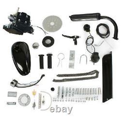 Full Set Bike Motor 2-stroke 80cc Petrol Gas Motorized Bicycle Engine Kit New Us