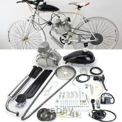 Kit Moteur À Essence 80cc 2 Temps Pour Vélo Motorisé Vélo Argent