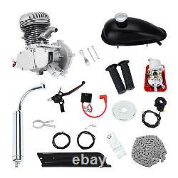 Kit Moteur De Vélo De 100cc 2-stroke Essence Motorized Motor Bike Modifié Set