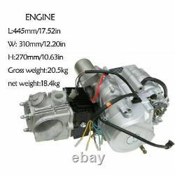 Kit Moteur Semi-auto 125cc 4 Temps Pour Vtt Quad Buggy Atc70