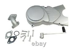 Lifan 125cc Motorcy Motorcycle Motor Manual Ohc Hiz Hizi Simple Cylindre 4 Argent Argent