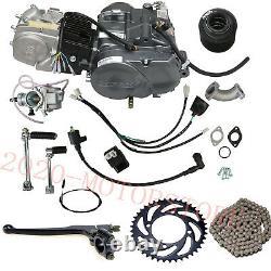 Lifan 140cc Manuel Embrayage 4 Course 4 Moteur De Vitesse Avec Des Kits Pour Pit Dirt Bike