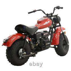 Massimo Mb200 Red Mini Bike 196cc Moteur Carburé Et Refroidi À L'air Quatre Coups