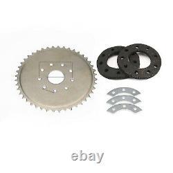 Mise À Jour 2 Stroke 80cc Bike Motor Engine Kit For Motorized Bicycle Diy Us Silver