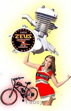 Moteur 2 Temps 2 Temps 66cc Seulement Pour Les Kits De Vélo Motorisés