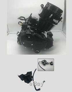 Moteur De Lifan Moto Avec Carb. Monocylindre Quatre Temps Ohv