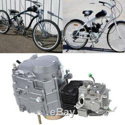 Moteur Vélo Kit 125cc Essence Vélo 4 Temps Motorisé Moteur À Essence Moteur Retrof