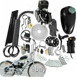 Nouveau 2 Stroke 80cc Complete Bicycle Bike Motored Gas Engine Kit 38km/h Us Stock