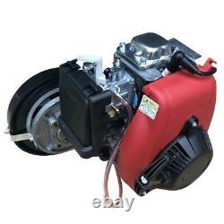 Nouveau 4-stroke 53cc Bicycle Bike Petrol Gas Engines Motor Kit Set 45km/h Scooter