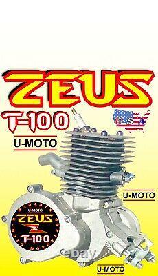 Nouveau 80cc / 100cc 2-stroke Moteur Motorized Bike Seulement Pour Kits Et Bonus