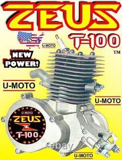 Nouveau 80cc / 100cc 2-stroke Motorisé Vélo Moteur Seulement Pour Kits Et Velo + Bonus